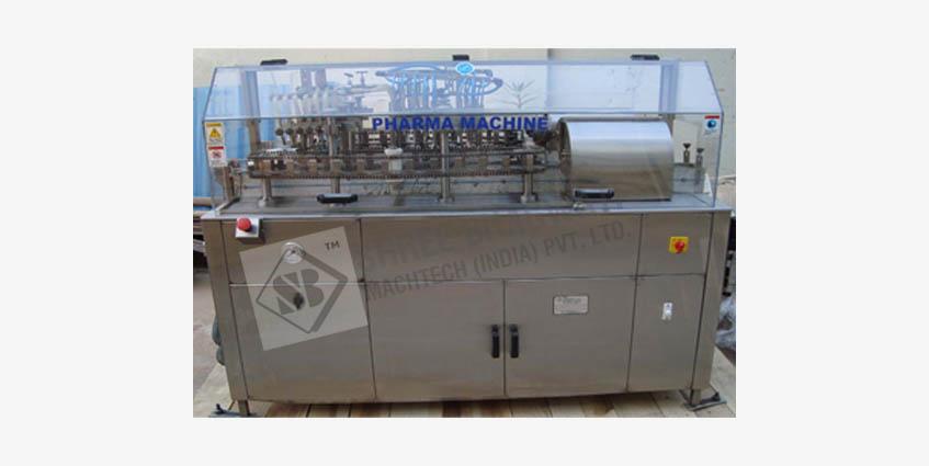 External Ampoule & Vial Washing machine